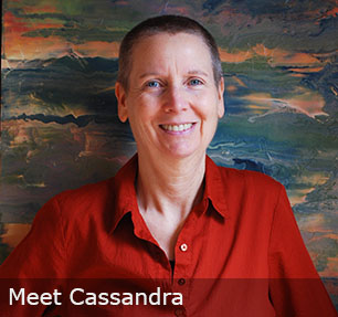 Abstract Artist Cassandra Tondro