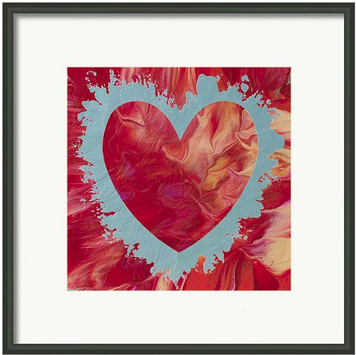 Heart on Fire fine art print