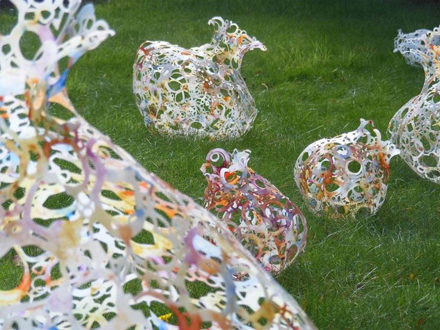 Recycled plastic bottles can be made into images for Recycled products from plastic bottles