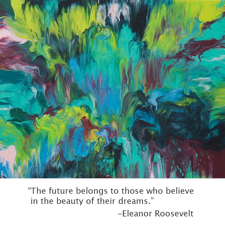 Acrylic paintings and quotes quotesgram for Inspirational paintings abstract