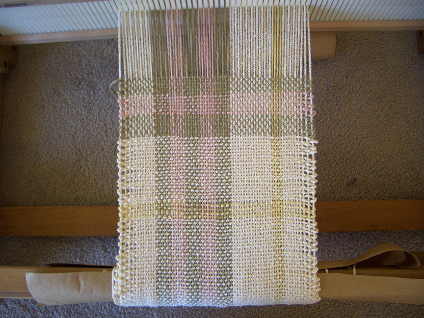 Weaving a Scarf Rigid Heddle