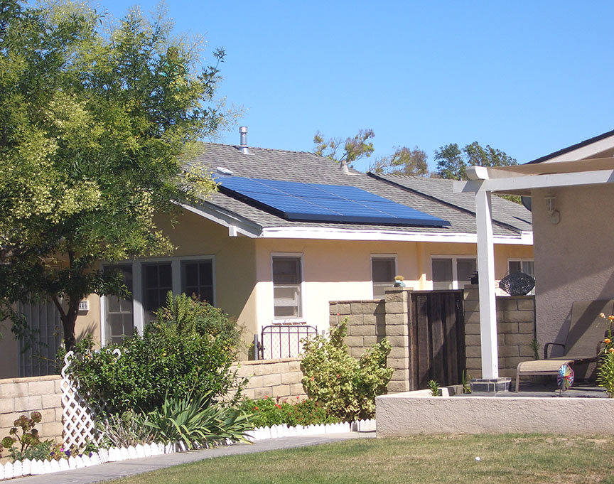 Solar City panels