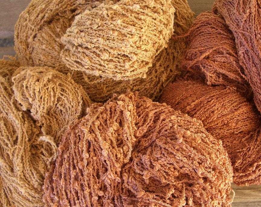 Natural dyeing eucalyptus and ironwood