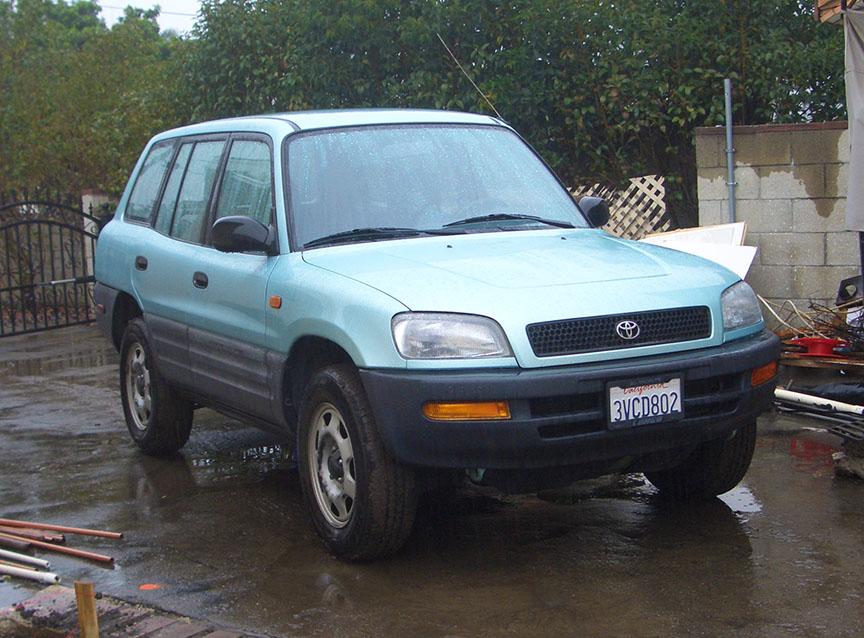Toyota RAV4 milestone