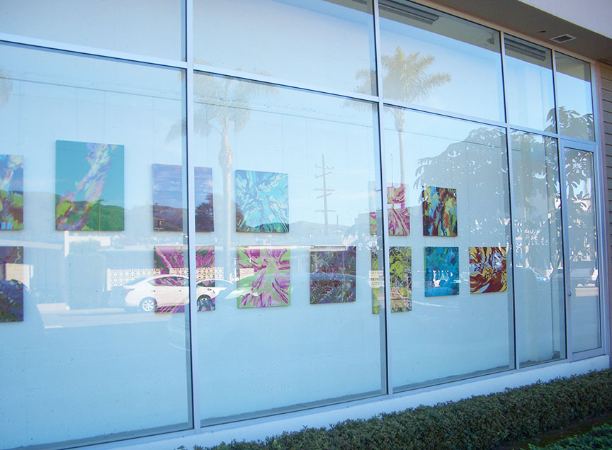 Art Display community Memorial Hospital Ventura