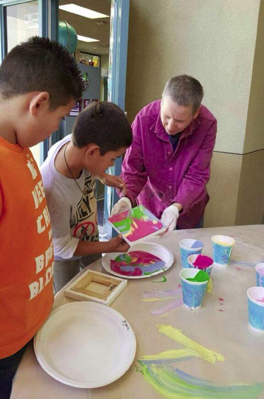 Rancho Rosal Painting Class