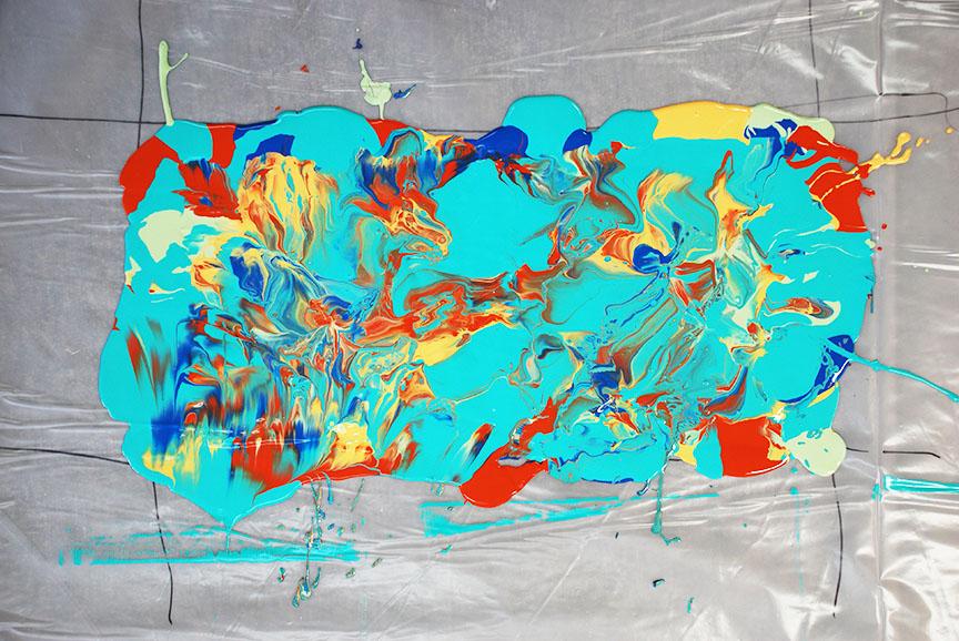 Leftover Latex Paint