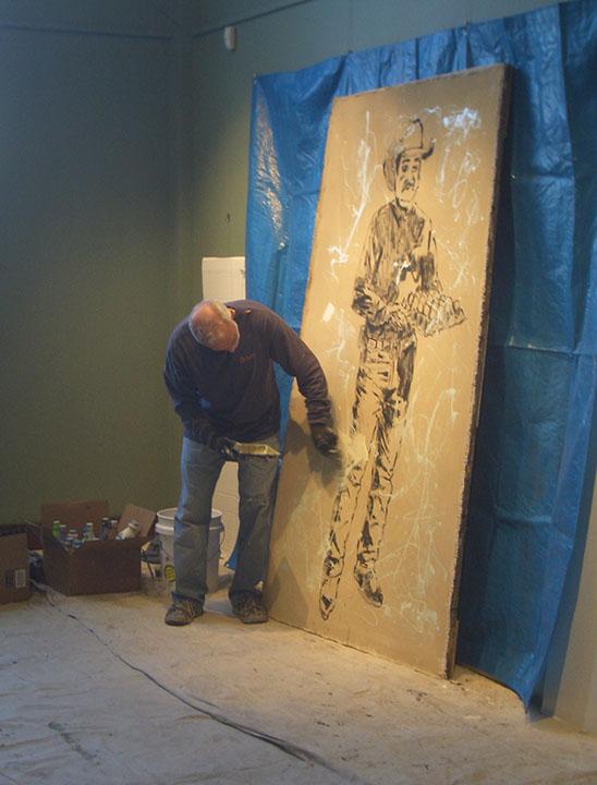 Artist John Robertson