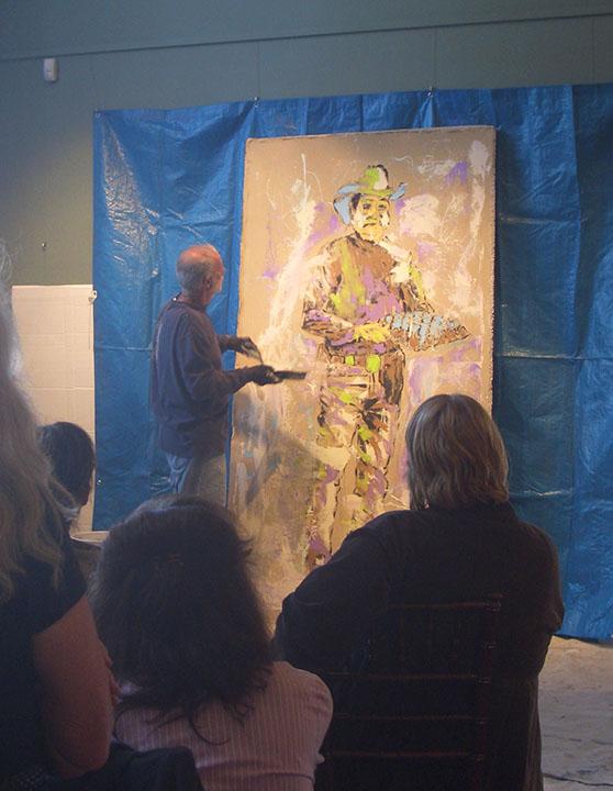 Artist John Robertson Ventura, CA