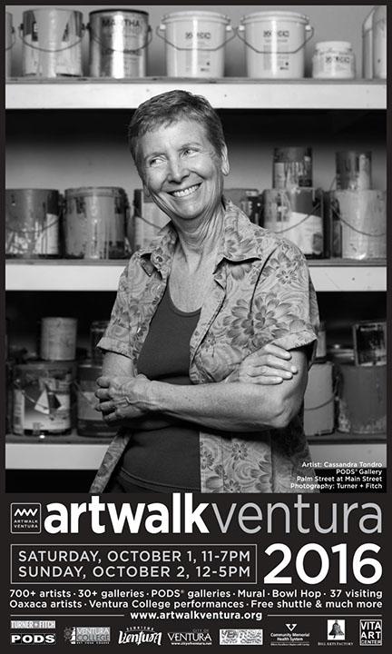 Cassandra Tondro ArtWalk Ventura 2016