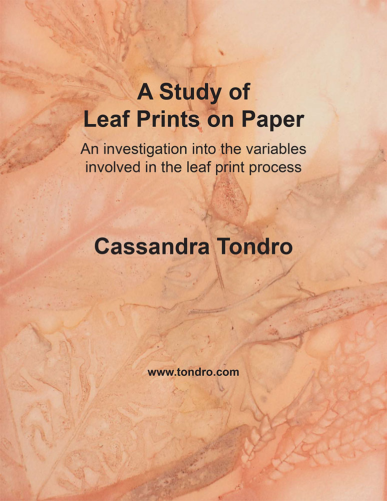 Leaf Print Tutorial
