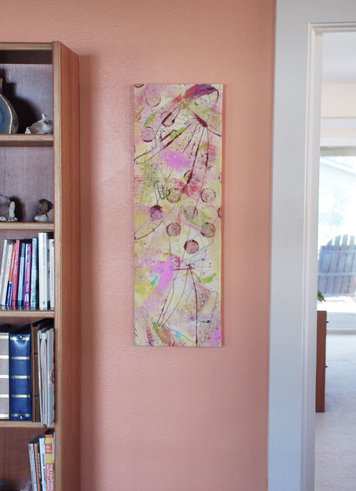 """Cassandra Tondro contemporary painting """"Harmony"""""""