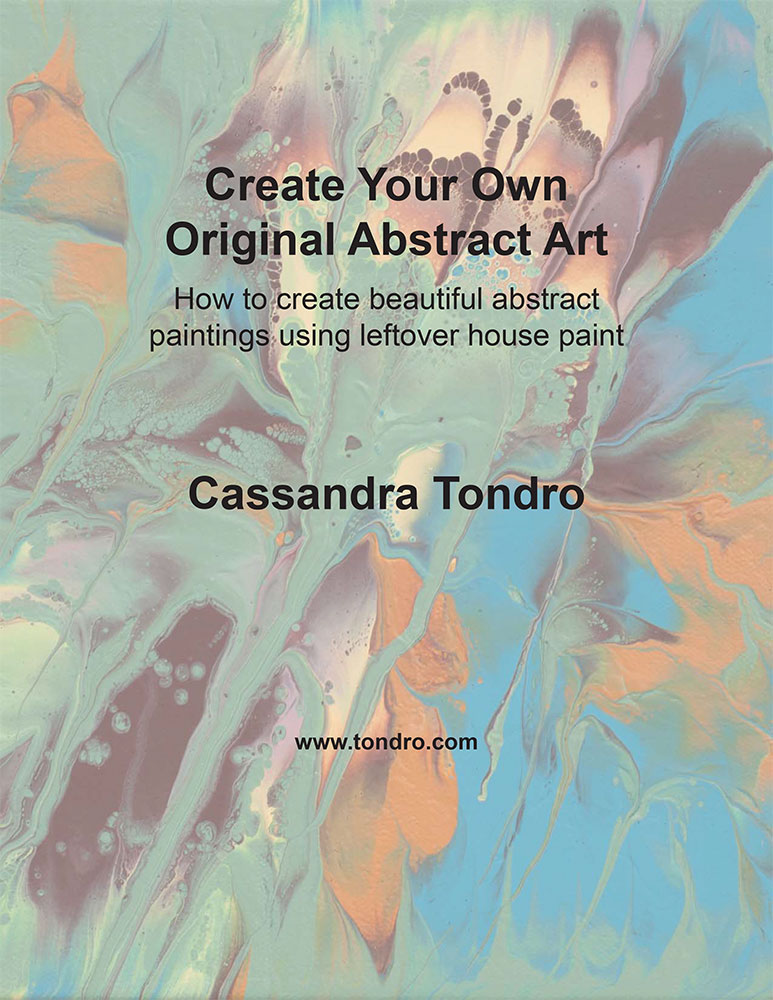 Cassandra Tondro abstract painting tutorial
